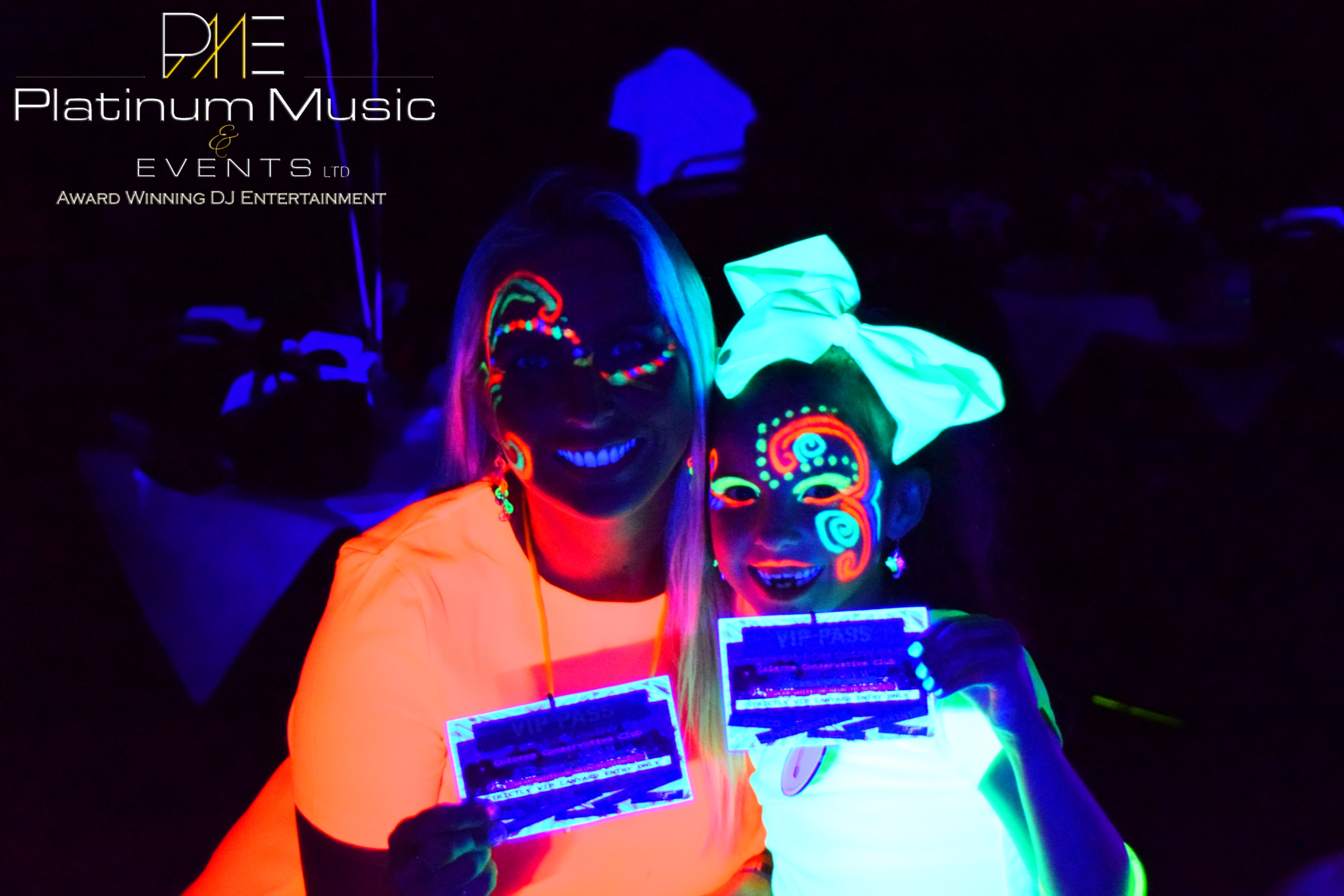 Neon Disco and Face paint