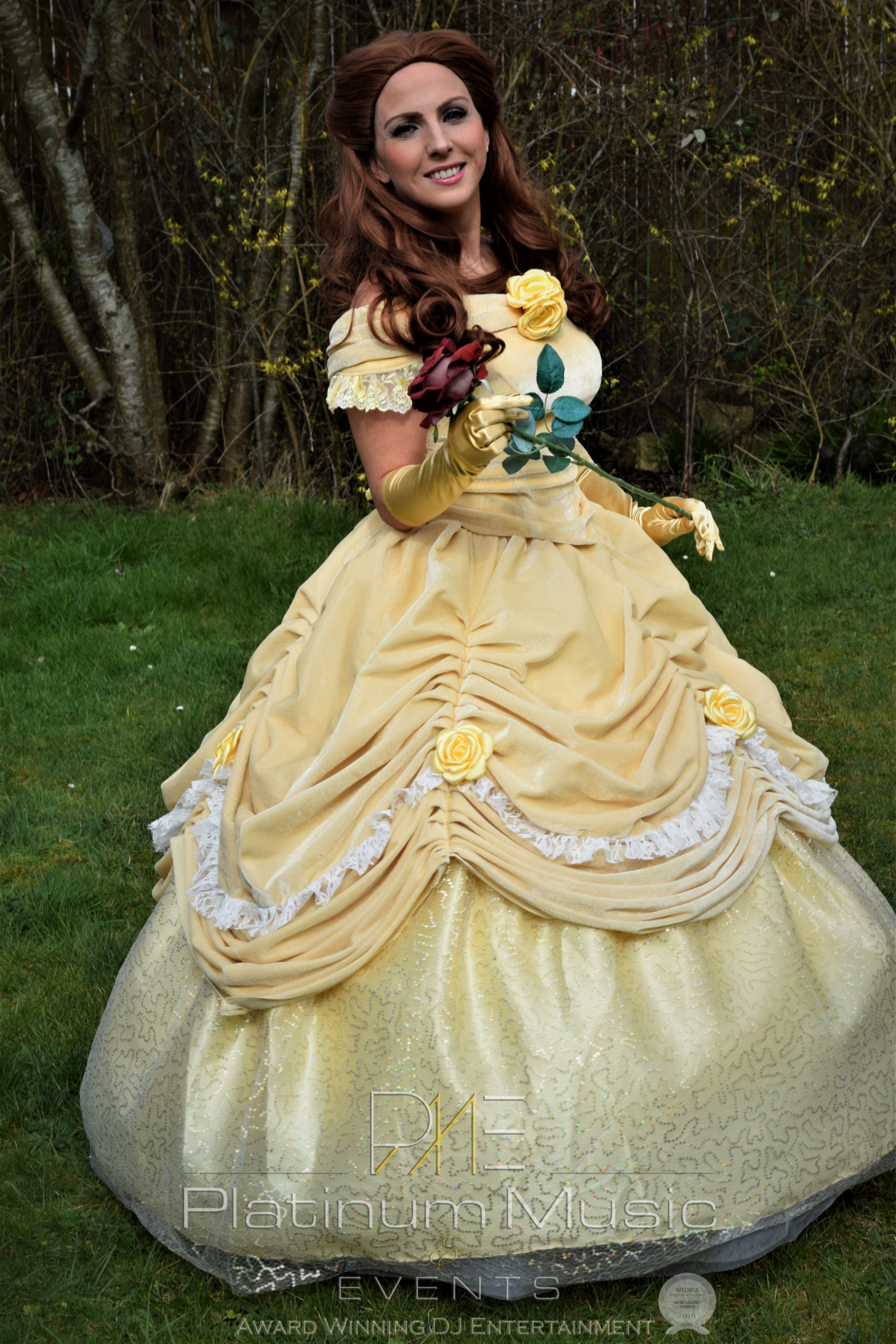 Belle - Beauty & The Beast Mascot