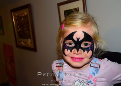 Batwoman Face Painting