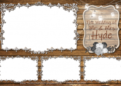Rustic Photobooth Template