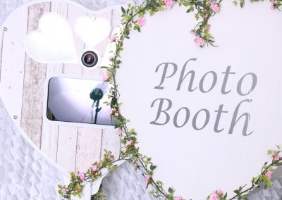 Rustic Heart Photobooth